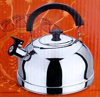 Чайник KETTLE Stainless Still со свистком - 3 литра