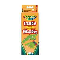 Набор для творчества Crayola 10 цветных карандашей с ластиками (3635)