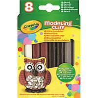 Набор для творчества Crayola Масса для моделирования натуральных цветов 8 шт (57-0314)