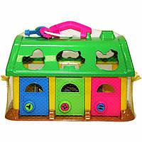 Развивающая игрушка Полесье Домик для зверей (9166)