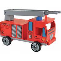 Машина Мир деревянных игрушек Пожарная машина (Д302)