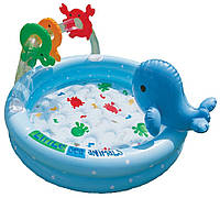 Детский бассейн Intex 57400 Дельфин с игрушками