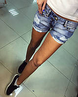 Красивые,летние шорты с потертостями