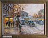 Авторская картина городской пейзаж Львова (купить недорого)