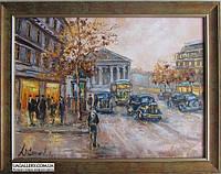 Авторская картина городской пейзаж Львова (купить недорого), фото 1