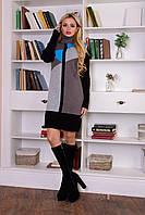 Женское зимнее платье Геометрия Modus 44-48 размеры