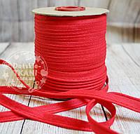 Кант из хлопка, цвет красный