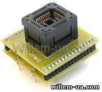 Адаптер PLCC32-DIP32 профессиональный панелька ZIF ADP-062