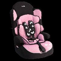 """Детское авт.кресло SIGER """"Драйв"""" , 1-12 лет, 9-36 кг, группа1,2,3(розовый)"""