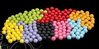 Сахарные бусинки цветные SIXLET 7 мм 200гр/упаковка