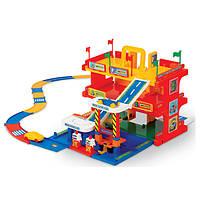 Детский гараж для машинок с автотреком Wader (50400)