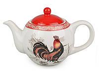 Чайник заварочный керамический 650 мл Петух 358-716