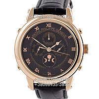 Часы Patek Philippe Grand Complications 5002 Sky Moon black/gold/black Класс ААА