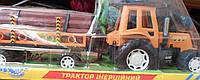 Трактор с прицепом инерцонный