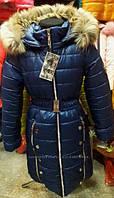 Пальто зимние для девочек от 34 до 42рр-Новинка зимы-теплые, модные, стильное