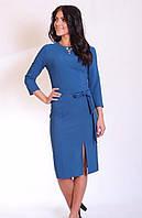 Красивое платье с украшением на горловине, фото 1