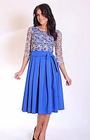 Красивое платье с гипюровым верхом, фото 1