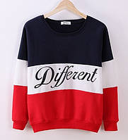 Женский свитер Different Красный