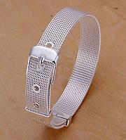 Серебряный женский браслет