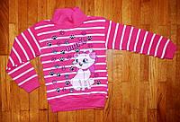 Детские гольфики для девочек Китти розовый  6-10 лет