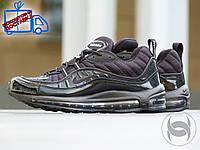 КРОССОВКИ Nike Air Max 98 x Supreme, МУЖСКИЕ, ЧЕРНЫЕ
