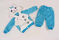 Комплект флисовый для новорожденных 1410-K-5