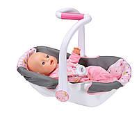 Кресло люлька Комфортное путешествие для куклы Baby Born Zapf Creation 822265