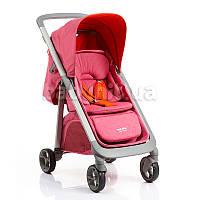 Прогулочная коляска GB C1020-2FZY розовая с красным (G)