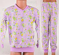 Детская пижама для мальчика на байке Moral D11 4-R.