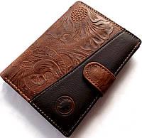 Кошелек - бумажник эко-кожа модель №001