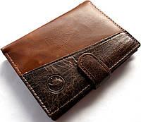 Кошелек - бумажник эко-кожа модель №002