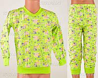 Детская пижама для мальчика на байке Moral D13 6-R.