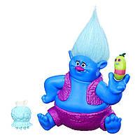 Игровая фигурка «Trolls» (B6555) тролль Здоровяк (Biggie Grandullon), 10 см