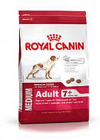 Royal Canin Medium Adult 7+,  4кг-корм для собак средних размеров старше 7 лет