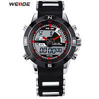 Чоловічий наручний годинник WEIDE Aqua Red (№ WH-1104)