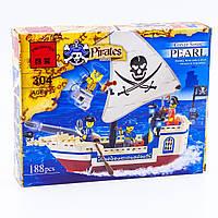 """Конструктор BRICK """"Пиратский Корабль"""", 188 дет, в коробке"""