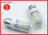 Светодиодная лампа кукуруза 12W 36 LED E27 - 5шт