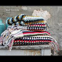 Полотенце махровое Barine - Multicolor Blue Shade 50*100