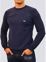 Мужской свитер с круглым вырезом, от производителя