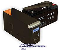 Комплект резервного електроживлення (газового котла но 4-5 год) RTSW-600+ АКБ LPM 12-65 AH