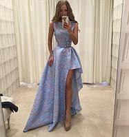 Платье-трансформер в пол со съемной юбкой
