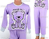Детская пижама для девочки, интерлок Betul D01 2-3-R.