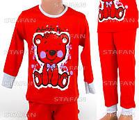 Детская пижама для девочки, интерлок Betul D02 2-3-R.