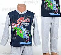 Детская пижама для мальчика, интерлок Betul D09 4-5-R.