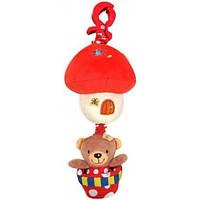 Alexis Подвеска Alexis Babymix Мишка на воздушном шаре P/1116-2981 (красный)