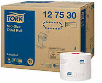 Tork Advanced туалетная бумага Mid-size в миди-рулонах