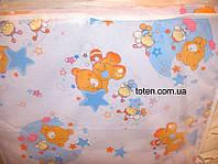 Комплект сменного постельного белья 8 в 1 Хлопок Мишки