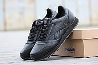 Зимние мужские кроссовки Reebok черные
