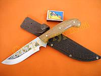 Нож туристический  Спутник 11 ножны кожа