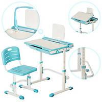 Детская регулируемая парта и стул (M 3111-4)